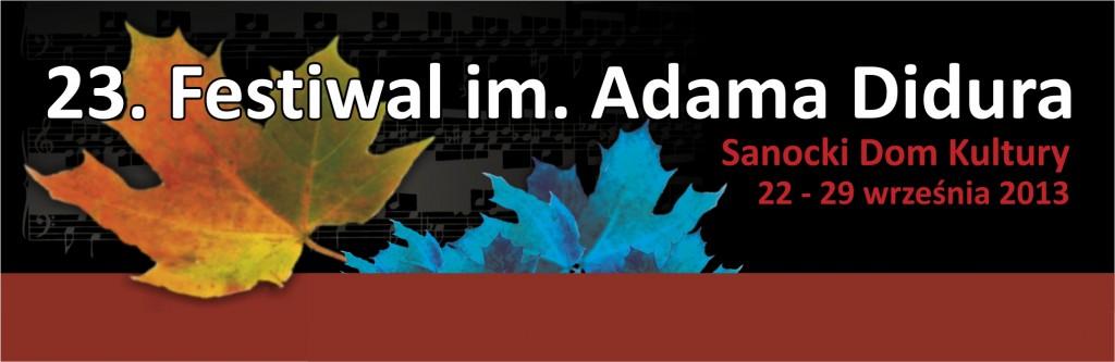 baner-XXIII-Festiwal-im.Adama-Didura
