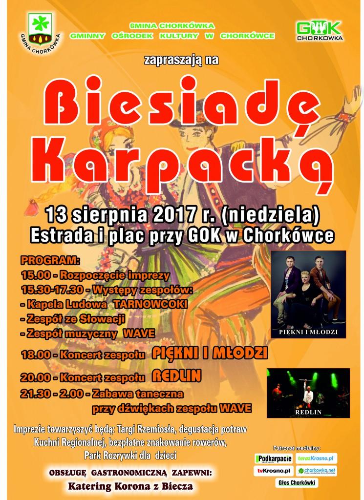 Plakat Biesiada Karpacka 2017