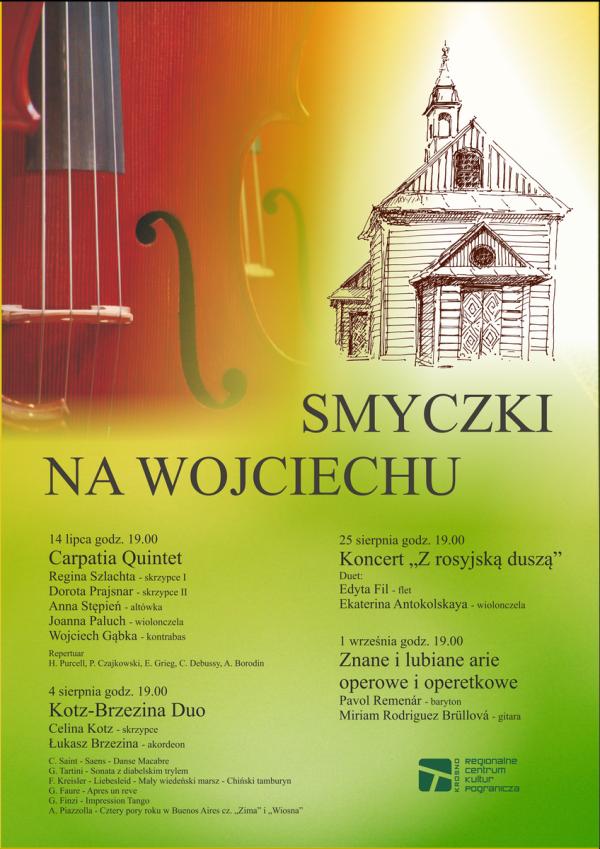 RCKP Smyczki na Wojciechu 2017 - Plakat