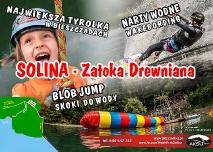 WAKE PARK Solina & Tyrolka Solina – Zatoka Drewniana Moc Atrakcji (FILM)