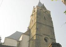Kościoł parafialny w Lesku